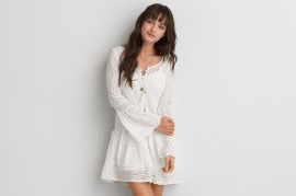 Tassel Shift Dress - American Eagle $90
