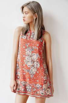 Ecote Guinevere Open-Back Frock Dress - Urban Outfitters $69