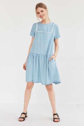 Little White Lies Suki Chambray Shift Dress - Urban Outfitters $109