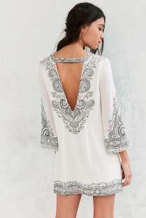 Ecote Gineva Printed Shift Dress - Urban Outfitters $79