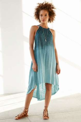 Ecote Hazelene Dyed High/Low Knit Dress - Urban Outfitters $69