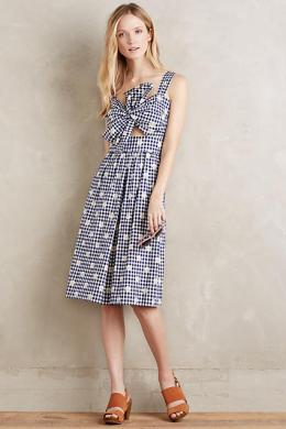 Knotted Cutout Dress - Anthropologie $548