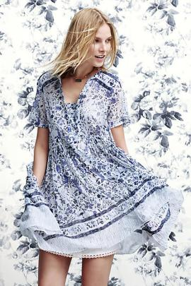 Morning Glory Swing Dress - Anthropologie $138