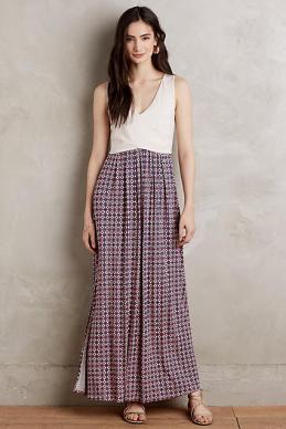 Elysian Maxi Dress - Anthropologie $99