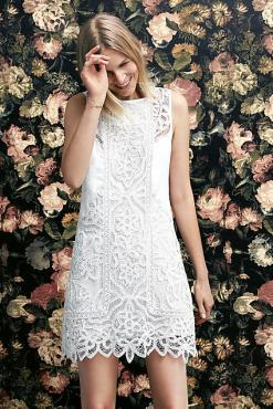Laced Garden Shift - Anthropologie $198