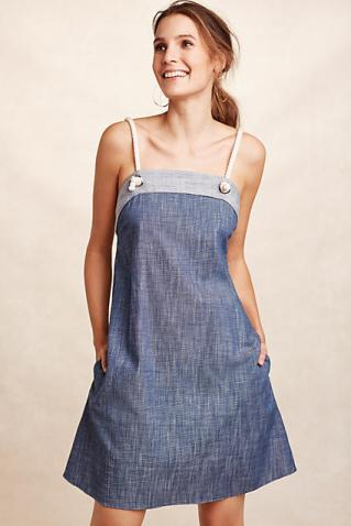 Marin Chambray Dress - Anthropologie $148