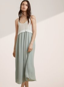 Wilfred Bisons Dress - Aritzia $195