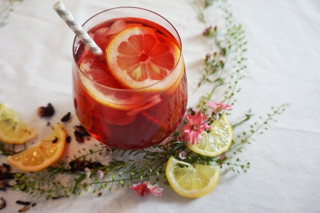 Tearrific Hibiscus Lemonade